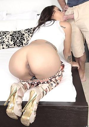 Big Ass Blowjob Porn Pictures